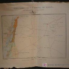 Mapas contemporáneos: MAPA AGRONOMICO NACIONAL. HECIÑENA. . Lote 24379634