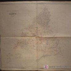 Mapas contemporáneos: PROVINCIA DE MADRID. INSTITUO GEOGRAFAICO. 1953. . Lote 26855299