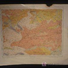 Mapas contemporáneos: CACERES SALAMANCA AVILA. Lote 22583435