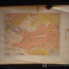 Mapas contemporáneos: MAPA GEOLOCIO DE ESPAÑA. CACERES. SALAMANCA AVILA. HOJA 27. Lote 12742597