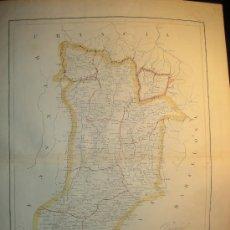 Mapas contemporáneos: MAPA ANTIGUO LERIDA 1853 . Lote 7373262