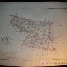Mapas contemporáneos: MAPA ANTIGUO ZAMORA 1853 . Lote 7443261