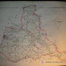Mapas contemporáneos: MAPA ANTIGUO ZARAGOZA 1853 . Lote 7443275