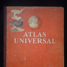 Mapas contemporáneos: ATLAS UNIVERSASL EDELVIVES. ZARAGOZA 1961 32 PAG. 32X25. Lote 25670765