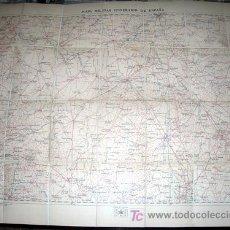 Mapas contemporáneos: MAPA MILITAR ITINERARIO ENTELADO PROVINCIAS VALLADOLID, ZAMORA, SALAMANCA, SEGOVIA - AÑO 1919 Nº 34. Lote 7843085