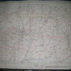 Mapas contemporáneos: MAPA MILITAR ITINERARIO DE ESPAÑA ENTELADO - PROVINCIAS DE MADRID GUADALAJARA AÑO 1913 Nº 45. Lote 8226550