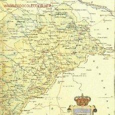 Mapas contemporáneos: MAPA DE LA PROVINCIA DE SEGOVIA. BENITO CHÍAS Y CARBÓ (1902). Lote 21444214