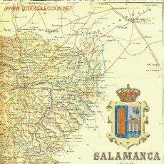 Mapas contemporáneos: MAPA DE LA PROVINCIA DE SALAMANCA. BENITO CHÍAS Y CARBÓ (1902). Lote 27083728