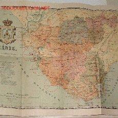 Mapas contemporáneos: MAPA ENTELADO DE LA PROVINCIA DE CADIZ. Lote 12315826