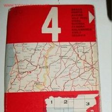 Mapas contemporáneos: MAPA DE CARRETERAS DE ESPAÑA - FIRESTONE HISPANIA Nº 4 . ESCALA 1:500.000 PLANO PLEGADO. . Lote 2095991