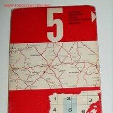 Mapas contemporáneos: MAPA DE CARRETERAS DE ESPAÑA - FIRESTONE HISPANIA Nº 5. ESCALA 1:500.000 PLANO PLEGADO. . Lote 2095992