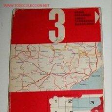 Mapas contemporáneos: MAPA DE CARRETERAS DE ESPAÑA - FIRESTONE HISPANIA Nº 3. ESCALA 1:500.000 PLANO PLEGADO. . Lote 2095998