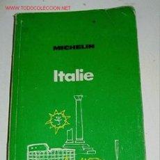 Mapas contemporáneos: ANTIGUO MAPA DE CARRETERAS ITALIE - MICHELIN - PLANO PLEGADO. . Lote 2100543
