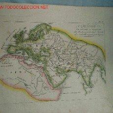 Mapas contemporáneos: MAPA. SIGLO XIX. Lote 13418940