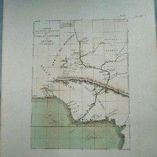 Mapas contemporáneos: MAPA GOLFO DE GUINEA. SIGLO XIX. Lote 16705030