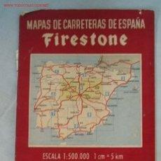 Mapas contemporáneos: MAPA CARRETERAS. Lote 2277386