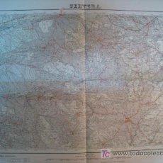 Mapas contemporâneos: MAPA CERVERA (SERVICIO GEOGRAFICO EJERCITO) 1950. Lote 9805311