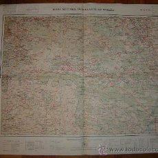 Mapas contemporáneos: HOJA 23 DEL MAPA MILITAR ITINERARIO DE ESPAÑA (GALICIA SUR). Lote 23728510
