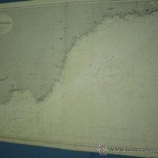 Mapas contemporáneos: CARTA MARINA DE ADRA A CARTAGENA. Lote 10893320