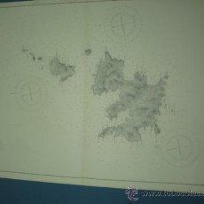 Mapas contemporáneos: CARTA MARINA DE BALEARES CABRERA CONEJERA Y OTRAS. Lote 10894411