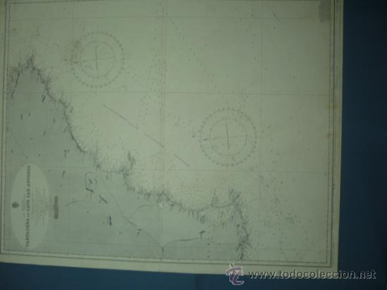CARTA MARINA DE CARTAGENA A CABO SAN ANTONIO (Coleccionismo - Mapas - Mapas actuales (desde siglo XIX))