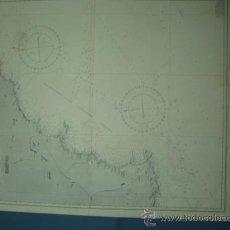 Mapas contemporáneos: CARTA MARINA DE CARTAGENA A CABO SAN ANTONIO. Lote 10894537