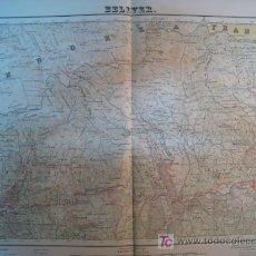 Mapas contemporáneos: MAPA BELLVER (SERVICIO GEOGRAFICO EJERCITO) 1951. Lote 11550534
