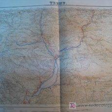 Mapas contemporáneos: MAPA TREMP (SERVICIO GEOGRAFICO EJERCITO) 1951. Lote 11550560