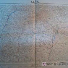 Mapas contemporáneos: MAPA AREN (SERVICIO GEOGRAFICO EJERCITO) 1951. Lote 11550562