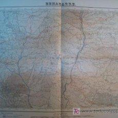 Mapas contemporáneos: MAPA BENABARRE (SERVICIO GEOGRAFICO EJERCITO) 1951. Lote 11550614