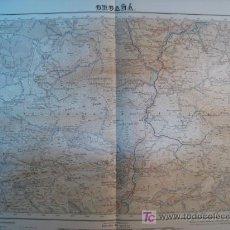 Mapas contemporáneos: MAPA ORGAÑA (SERVICIO GEOGRAFICO EJERCITO) 1951. Lote 11550627