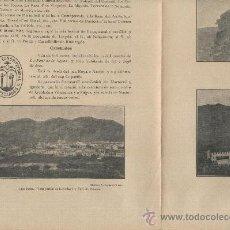 Mapas contemporáneos: 6 FULLES SOLES. RESUM HISTORIC DE CAPELLADES. SEGELL MUNICIPAL I 3 FOTOGRAFIES + MAPA.CALONGE.CARME . Lote 12689322