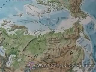 Mapas contemporáneos: MAPA COLEGIO MAPAS MURALES ASIA FISICA POLITICA A DOS CARAS VICENS VIVES 82X127CM - Foto 4 - 12963337