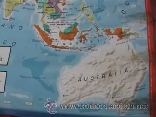 Mapas contemporáneos: MAPA COLEGIO MAPAS MURALES ASIA FISICA POLITICA A DOS CARAS VICENS VIVES 82X127CM - Foto 7 - 12963337