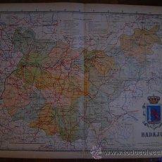 Mapas contemporáneos: 1910 MAPA DE LA PROVINCIA DE BADAJOZ DE BENITO CHIAS. Lote 27068535