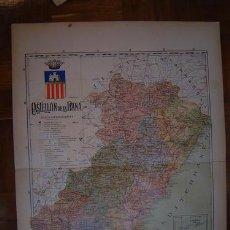 Mapas contemporáneos: 1910 MAPA DE LA PROVINCIA DE CASTELLON DE LA PLANA DE BENITO CHIAS. Lote 134001695