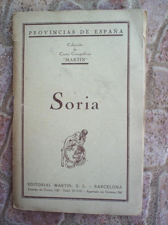 Mapas contemporáneos: MAPA ENTELADO ,PROVINCIA DE SORIA -MUY BIEN CONSERVADO - Foto 2 - 25853070