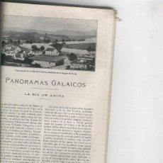 Mapas contemporáneos: RECORTE DE PRENSA. AÑOS 20. REPORTAJE DE LA RIA DE AROSA.CESURES. EL CARRIL.VILLAGARCIA.FEFIÑANES. Lote 13938004