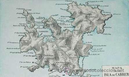 Isla De Cabrera Mapa.22 Mapa De La Isla De Cabrera De Enciclopedia Vendido En