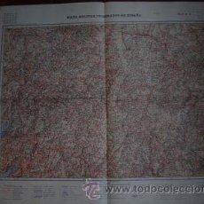 Mapas contemporáneos: HOJA 12 DEL MAPA MILITAR ITINERARIO DE ESPAÑA GALICIA. Lote 27424637