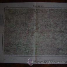 Mapas contemporáneos: 1944 EDICION MILITAR ( PRIMERA) DEL MAPA DE ORDENES E 1: 50000. Lote 27301798