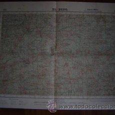 Mapas contemporáneos: 1948 MAPA DE EL PINO EDICION MILITAR ( PRIMERA) E 1: 50000. Lote 27515131