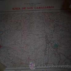 Mapas contemporáneos: MAPA MILITAR DE MANDO DE EJEA DE LOS CABALLEROS E:1/100000. Lote 26312975
