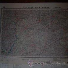 Mapas contemporáneos: MAPA MILITAR DE PERALTA DE ALCOFEA E 1/50000. Lote 26312977