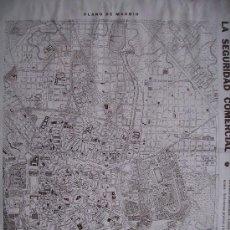Mapas contemporáneos: PLANO DE MADRID (CA.1925).FORMATO: 42 X 33 CM. Lote 26382131