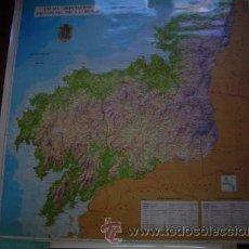 Mapas contemporáneos: MAPA DE LA PROVINCIA DE LA CORUÑA DE GRAN TAMAÑO ( 1,02 X 1,02 M.) E 1/ 150000. Lote 27137390