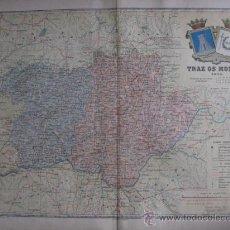 Mapas contemporáneos: MAPA DE PORTUGAL. TRAZ OS MONTES. 1903. LITOGRAFIA.. Lote 15149254