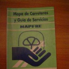 Mapas contemporáneos: MAPA DE CARRETERAS Y GUIA DE SERVICIOS MAPFRE --MUTUALIDAD 1992. Lote 15568977