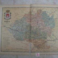 Mapas contemporáneos: MAPA DE SORIA . 1901. LITOGRAFIA. EDICION ALBERTO MARTIN. Lote 15788595