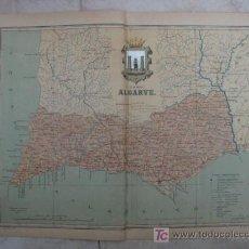 Mapas contemporáneos: MAPA DE FARO ALGARVE (PORTUGAL). 1903. LITOGRAFIA. EDICION ALBERTO MARTIN. Lote 15788750